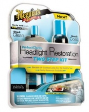 Meguiars Perfect Clarity 2-step Headlight Kit - ZESTAW DO RENOWACJI REFLEKTORÓW