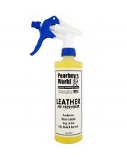 POORBOY'S WORLD Air Freshener Leather 473ml - ZAPACH SKÓRY DO AUTA