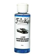 FINISH KARE 317 Exterior Black Trim Restorer 118 ml - DRESSING NA PLASTIKI ZEWNĘTRZNE, ELEMENTY GUMOWE