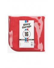 Shiny Garage Red Finisher Plush Microfiber 600gr - MIKROFIBRA DO WOSKÓW