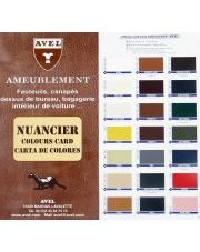 AVEL LTHR Color Chart - Wzornik kolorów