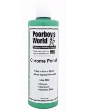 POORBOY`S Chrome Polish 473 ml - PASTA POLERSKA DO METALU