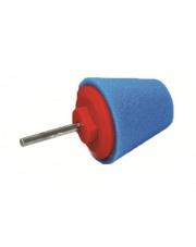 PA szyszka stożek polerski twardy 60mm niebieska