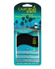 CALIFORNIA SCENTS Paper Air Freshener - Santa Ana Sea Breeze 3-pak - ZAWIESZKA ZAPACHOWA