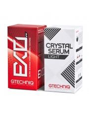 Zestaw Power Couple: Crystal Serum Light 50 ml + EXO 50 ml - ZESTAW POWŁOK CERAMICZNYCH