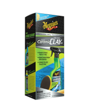 MEGUIARS Hybrid Ceramic Quik Clay Kit - ZESTAW DO GLINKOWANIA WRAZ Z CERAMICZNĄ OCHRONĄ