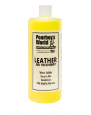 POORBOY'S WORLD Air Freshener Leather 118ml - ZAPACH SKÓRY DO AUTA