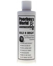 POORBOY'S WORLD Bold N Bright Tire Dressing 473ml - DRESSING DO OPON
