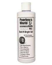 POORBOY'S WORLD Bold N Bright Tire Dressing Gel 473ml - ŻELOWA ODŻYWKA DO OPON