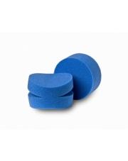 FLEXIPADS Aplikatory polerskie okrągłe z niebieskiej gąbki z nacięciami na palce - 40840